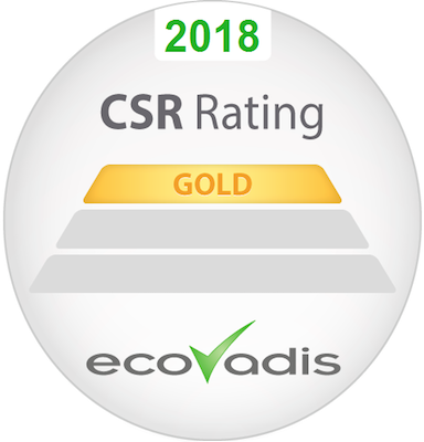 CSR Rating:GOLD